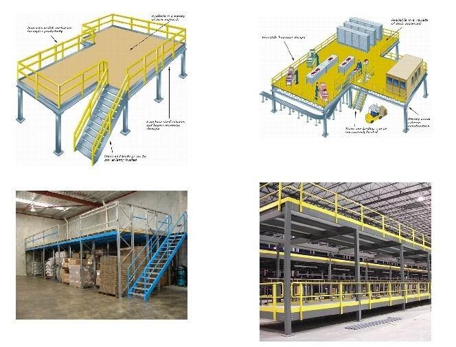 库房钢平台结构